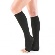 Neo_G_Open_Toe_Compression_Stocking_Below_Knee_Medium_Black